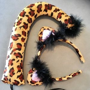 Children's Leopard Costume Party Accessories